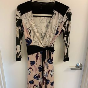 Floral Wrap Dress From BCBG